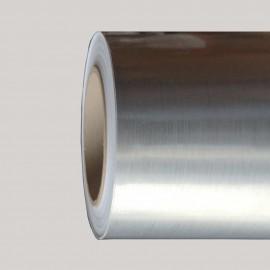 Vinyle adhésif aspect alu brossé