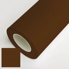 Vinyle adhesif mat chocolat