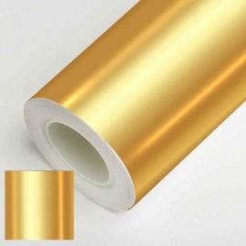 Vinyle adhésif aspect miroir or